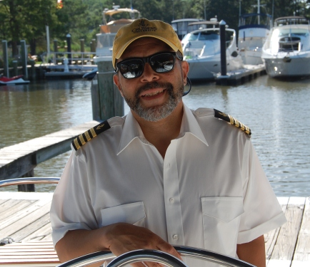 Capt. Rob Chichester, Photo by Theresa Vollman