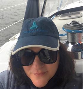First Mate and Chef Theresa Vollman